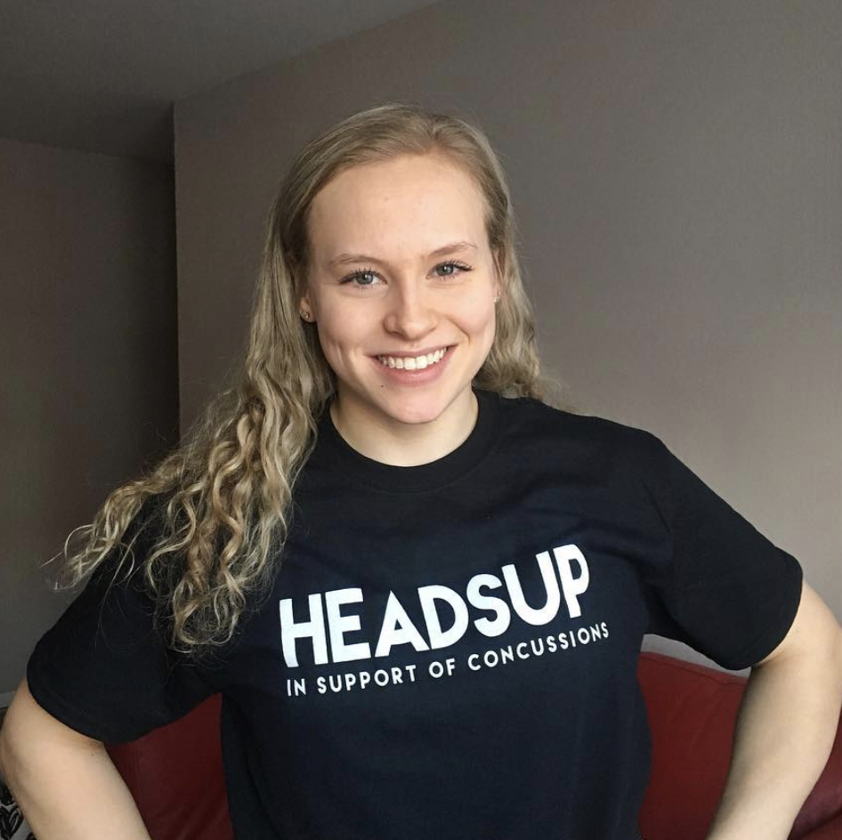 HeadsUp Canada - Ellie supports Headsup Canada - a social purpose that aims to tackle the issue of sport concussions, helping to fund research at the Canadian Concussion Centre out of Toronto Western Hospital.