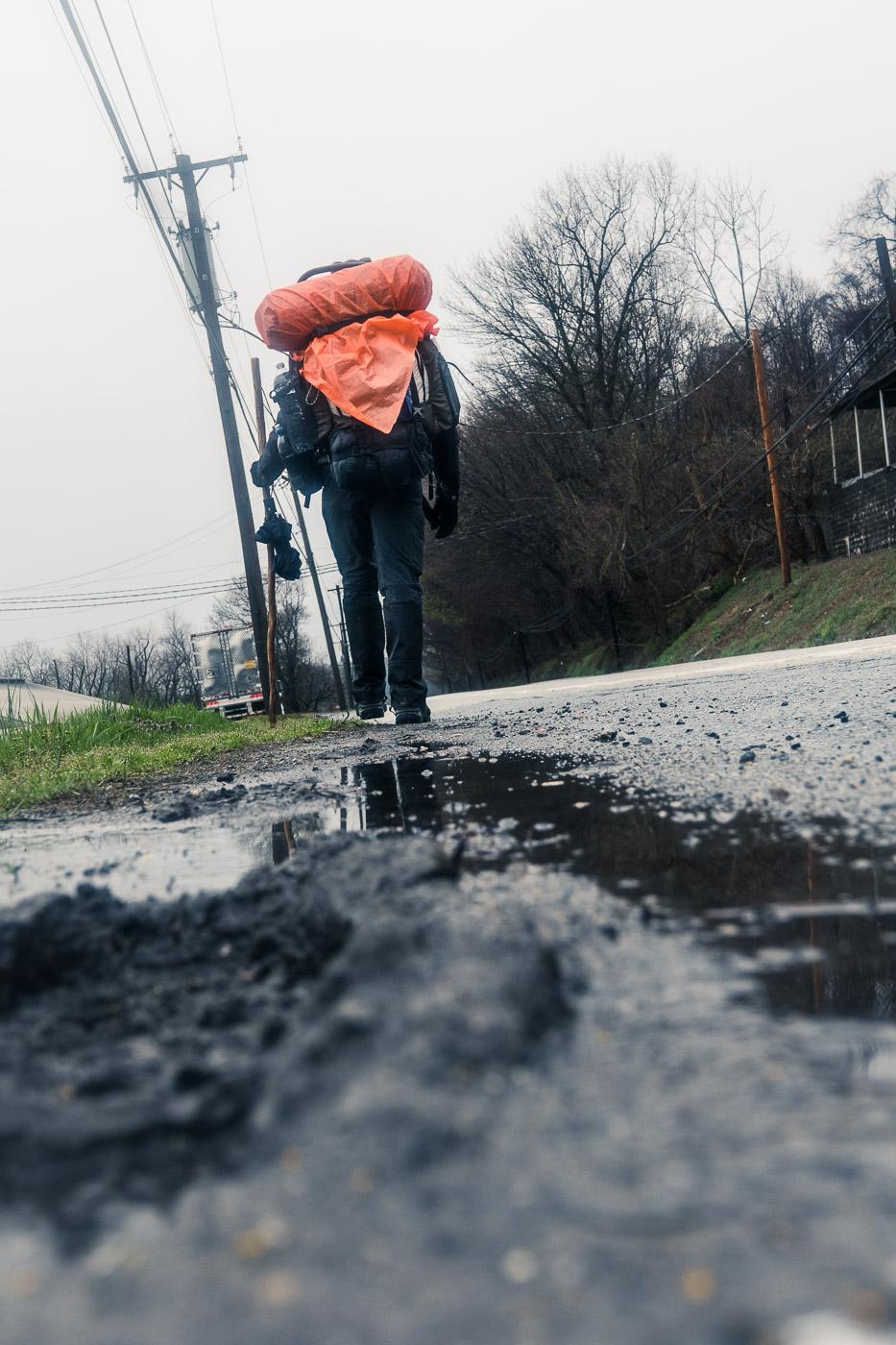 Rain And Mud And HikerTrash \ \ 4/6/17