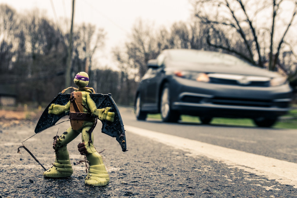 Donatello on the Streets \ \ 4/7/17