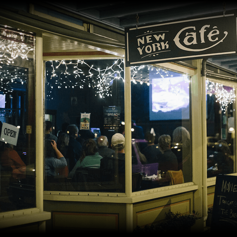 the new york cafe, A Ketchikan Classic.