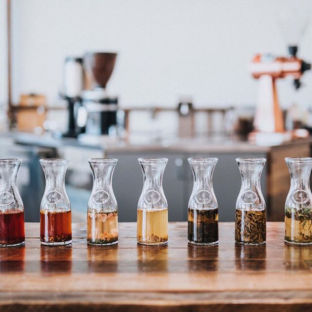 Tea flight anyone? 🙋🏼 . . . #teaflight #rainbow #tastetherainbow #tea #tealover #tealovers #ilovetea #teaholic #timefortea #teatime #tealife #teaaddict #teaparty #teadrinker #teaobsessed
