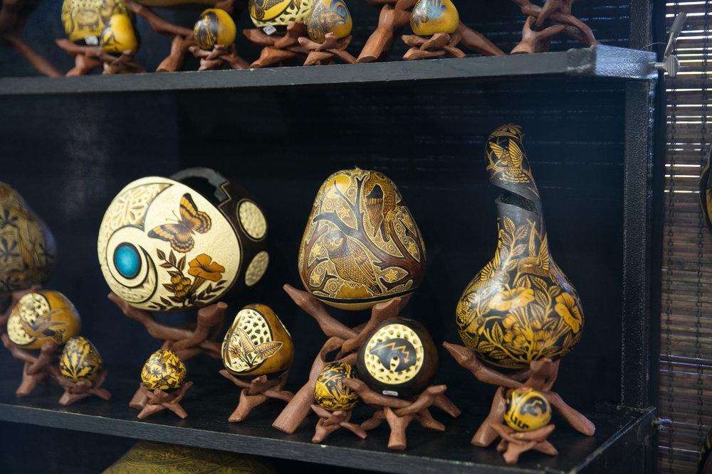"""Gourd Art"" by Percy Medina"