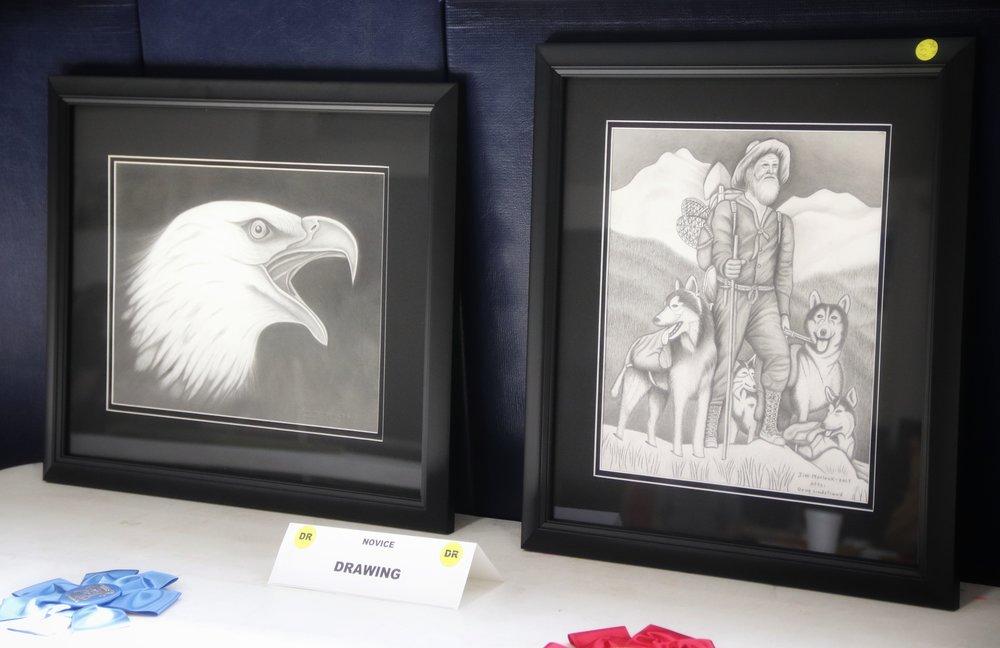 """""""Mountain Man & Eagle"""""""