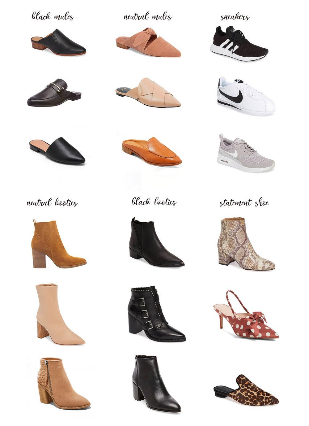 82cefd776a03 Wardrobe Essentials  Fall Shoes — Annie Paventy