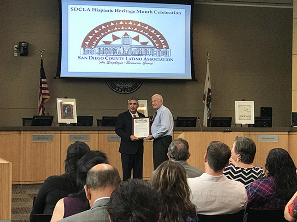 proclamation award from supervisor cox2.jpg