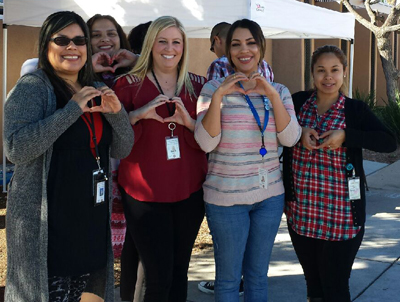 Employees at the El Cajon Family Resource Center got their free screenings!
