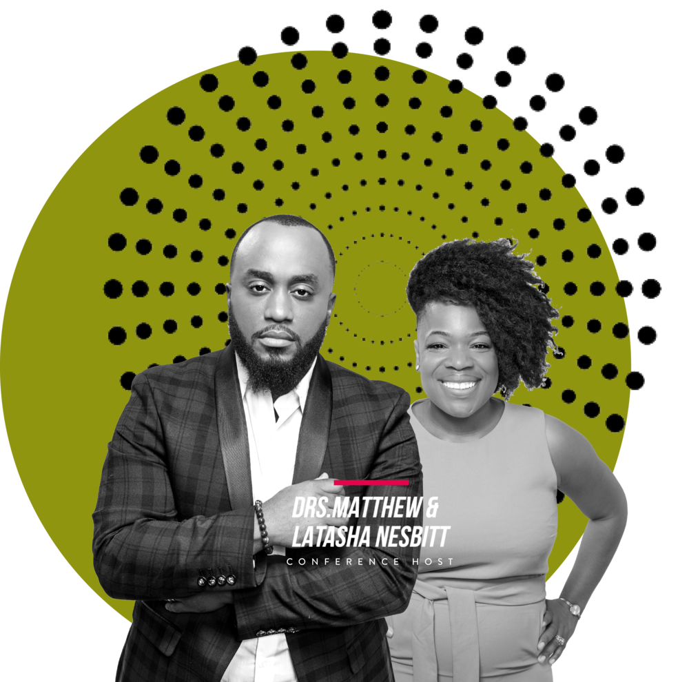 OUR FOUNDERS - Drs. Matthew & LaTasha Nesbitt epitomize what it means to be a power couple. Together they have published everything from leadership resources to personal memoirs to children's books. Both dynamic speakers, they traverse the country facilitating and contributing to conferences, seminars, and training workshops. They recently launched their collective brand, Now with the Nesbitts, a lifestyle brand that empowers people to live their best lives, NOW.