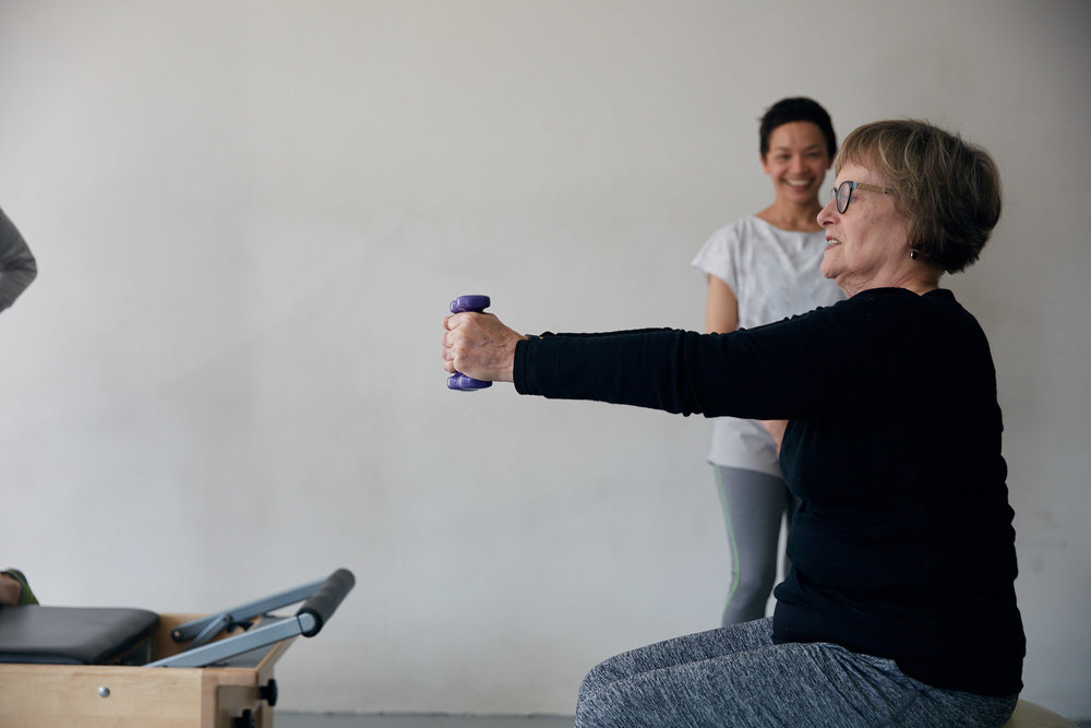 """""""In 10 sessions you'll feel the difference, in 20 sessions you'll see a difference, and in 30 sessions you'll have a whole new body."""" - – Joseph H Pilates"""