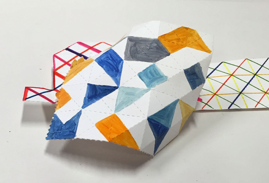 Fold/Unfold by Louisa Chambers