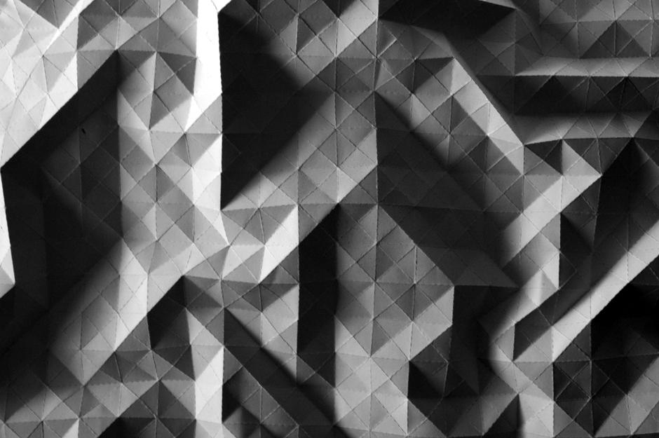 Protopaper——————Square mesh -