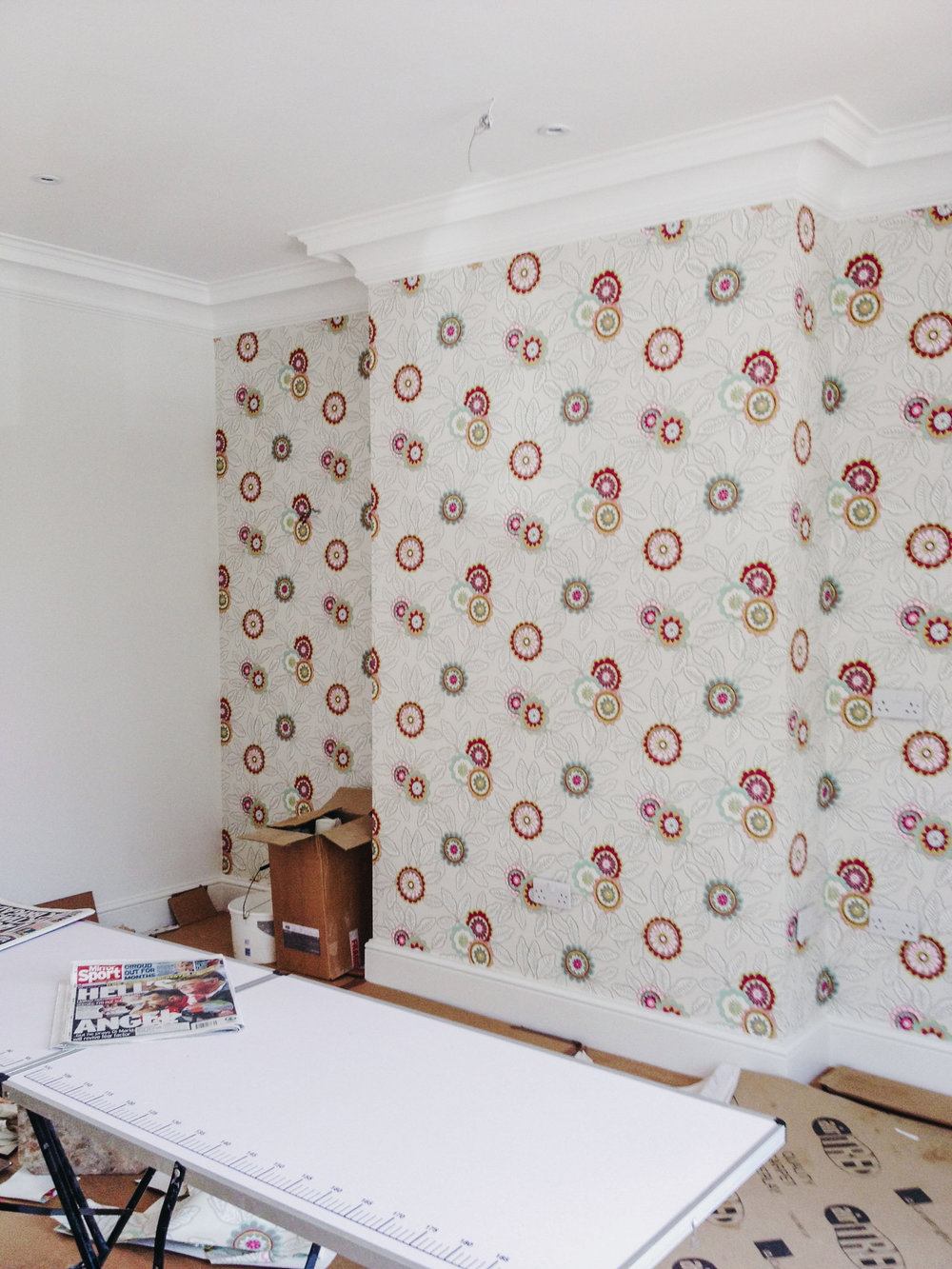 Wallpapering in London