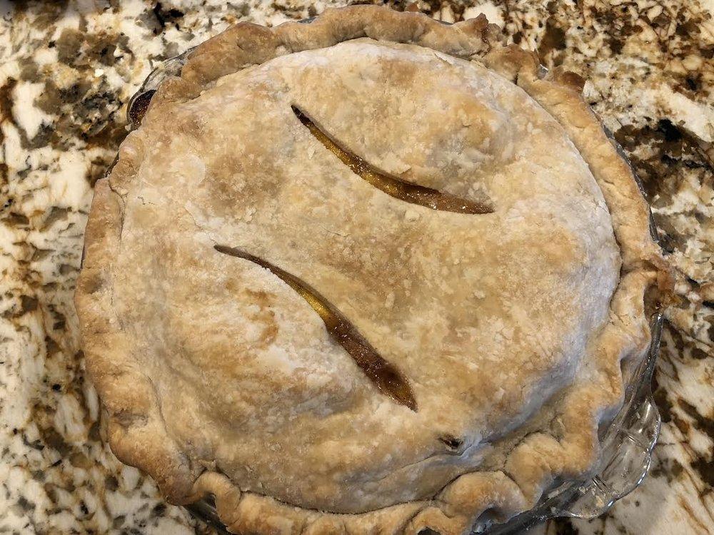 Peach Pie $20