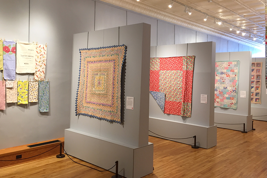Feed Sacks: Iowa Quilt Museum (Winterset)—January 2 to April 15, 2018