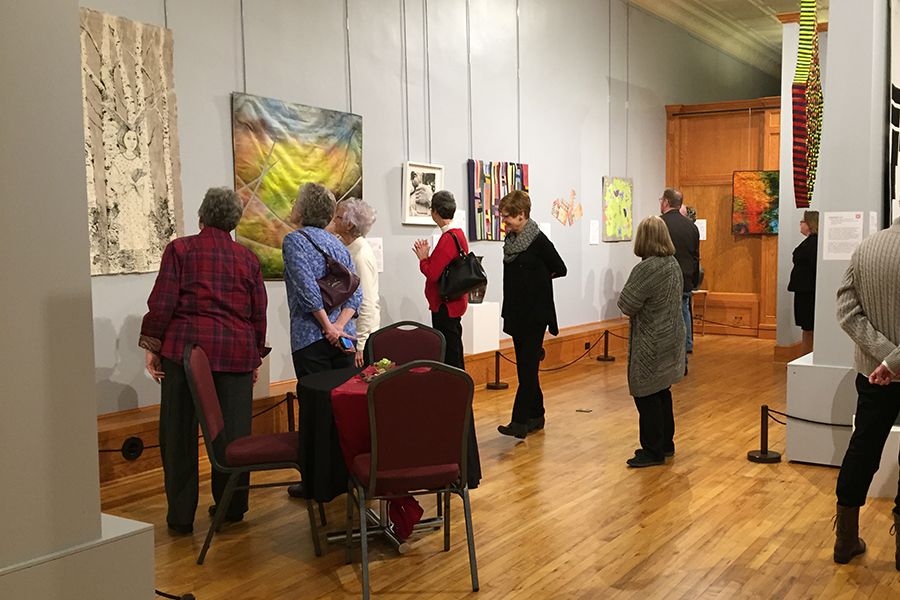 Art Quilts of the Midwest: Iowa Quilt Museum (Winterset)—January 28 to April 30, 2017