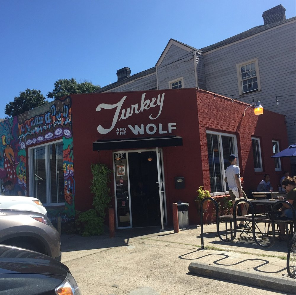Turkey and the Wolf in New Orleans, LA