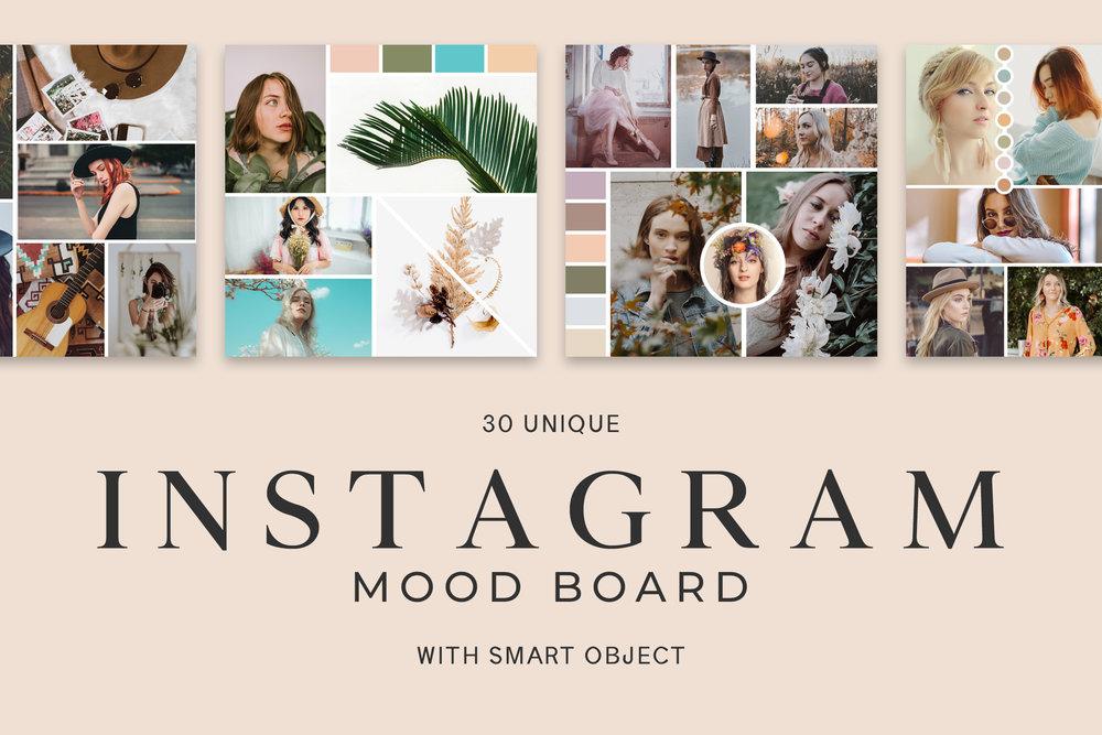 30 Free Instagram Mood Board Templates — CreativeUltra