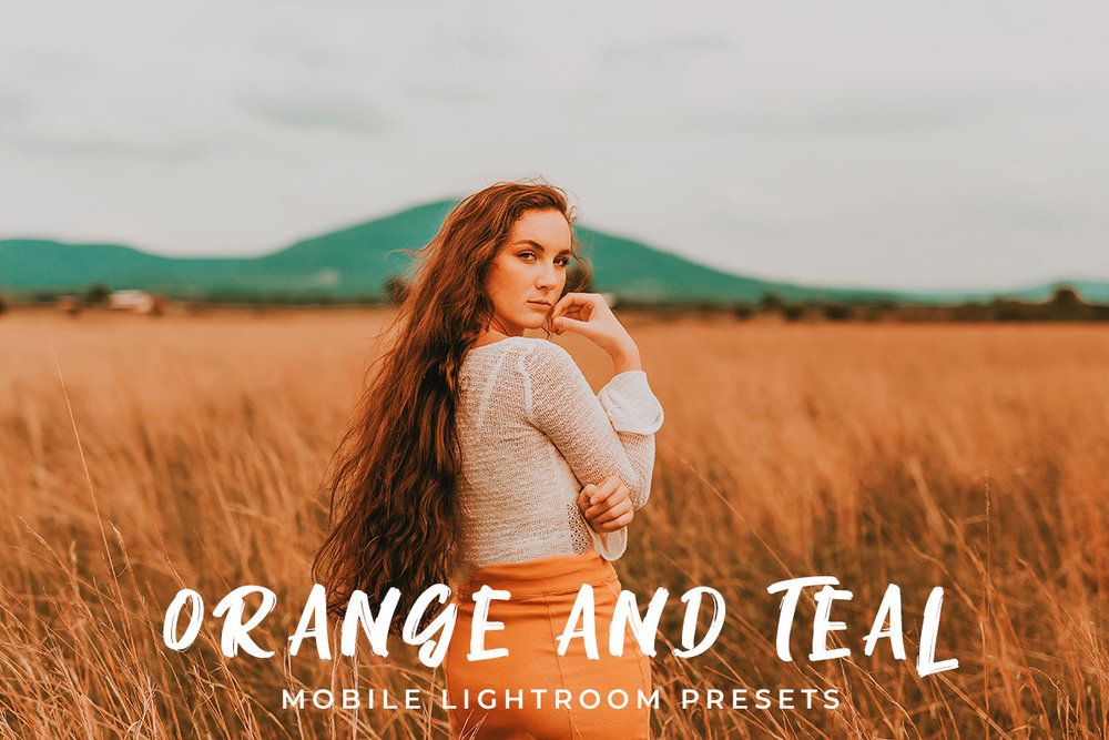 Free Orange and Teal Mobile Lightroom Presets — CreativeUltra