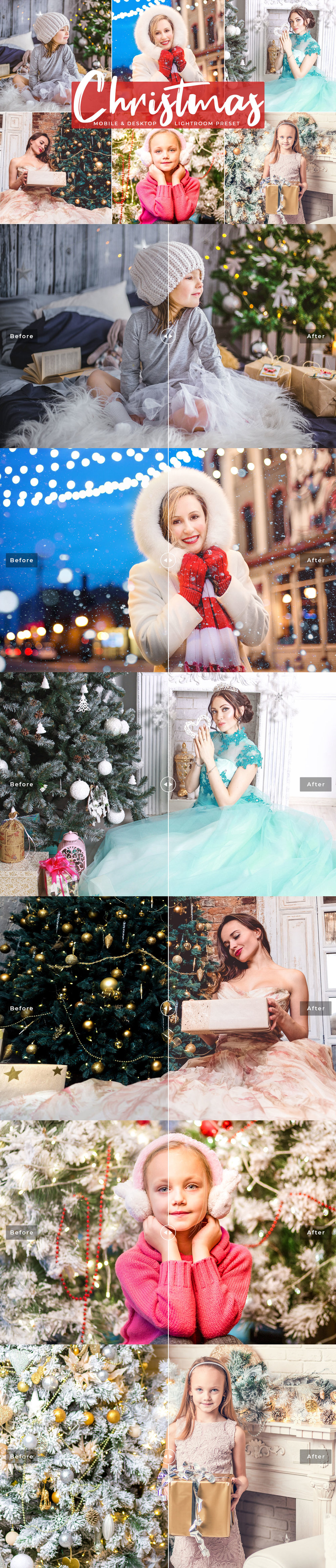 #Christmas #Mobile Free Lightroom #Presets was carefully handcrafted to enhance your photographs with perfect look and making them pop just in a single click!