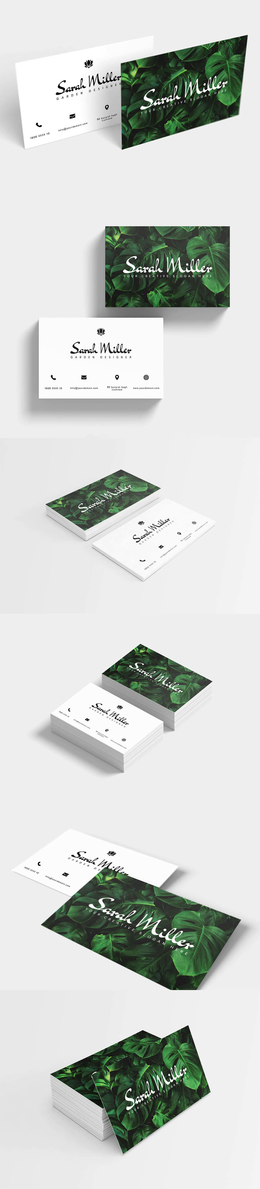 Free BotanicalBusiness Card Templateis a beautiful and modern trend botanical business card. It contains 2 PSD files with built-in smart object feature in CMYK color mode at 300 DPI resolution.