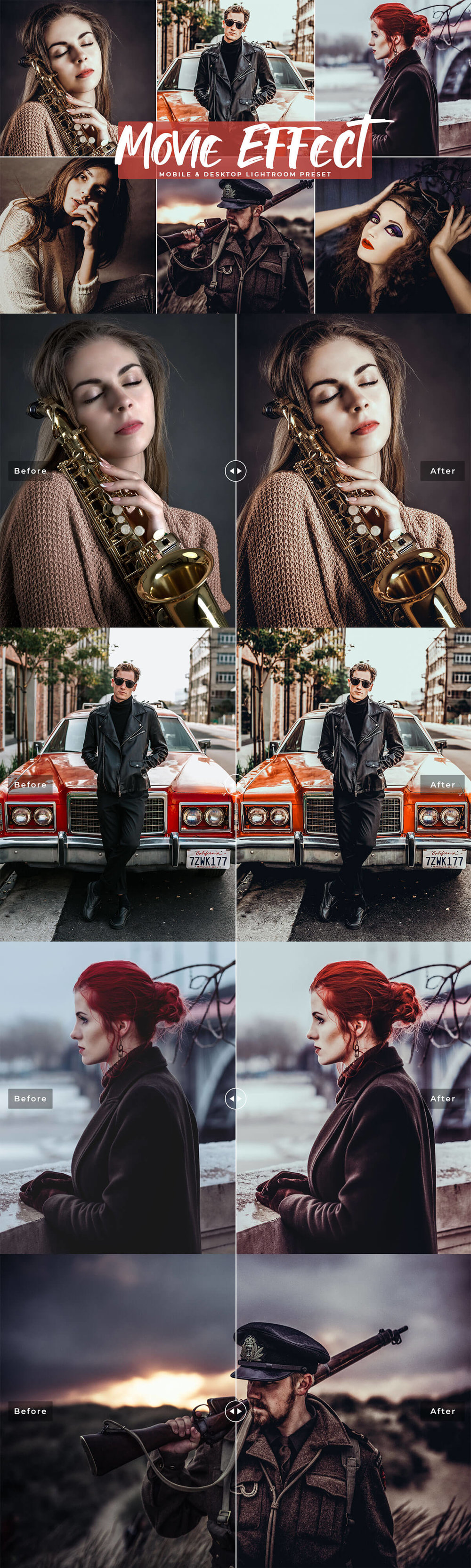 #Movie Effect Free #Lightroom #Preset was created to replicate the look of cinematic effect used in movies and cinema.