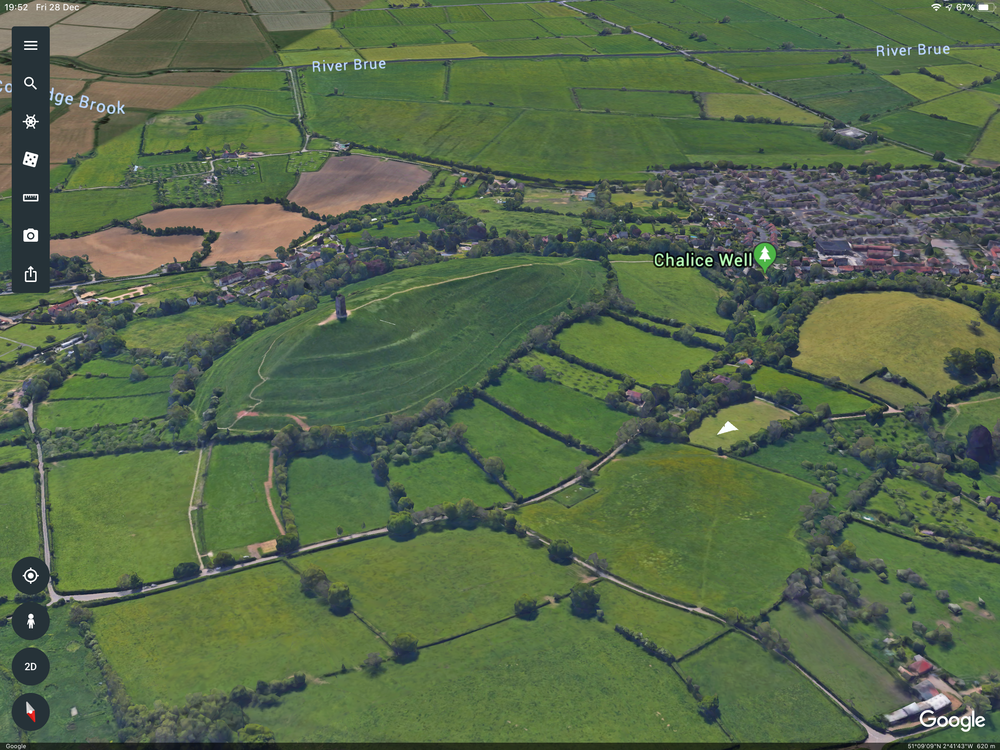 3D image taken from Google Earth as a reference.