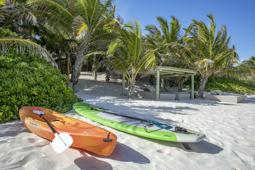 Paddle boards and a kayak are available to you any time with any of our rental packages. Enjoy!!