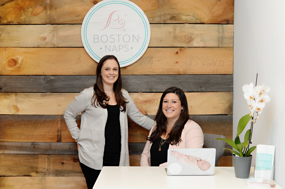 Boston NAPS co-founders Emily Silver (left) and Jamie O'Day (right).