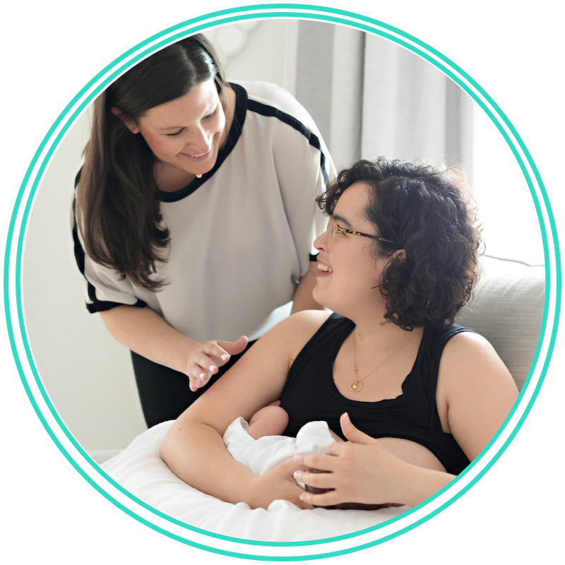 Lactation Consultations - Schedule a private, in-home visit from one of our lactation specialists. We help you improve your baby's latch, increase milk transfer and troubleshoot common problems. You will receive a customized action plan for you and your baby addressing your questions and concerns. This 1-hour visit is with a Registered Nurse who is also a Certified Lactation Counselor.Some health insurance companies reimburse for lactation visits.