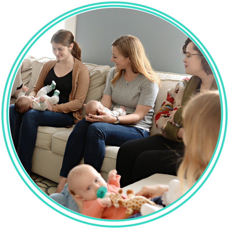 Moms' Survival Guide - Come meet other mothers who have a baby the same age as yours. Whether you are a new or experienced mom, we cover a new topic every week and encourage you to support each other as women and mothers. Class meets as a 4- or 6-week series.Cost: $115-150