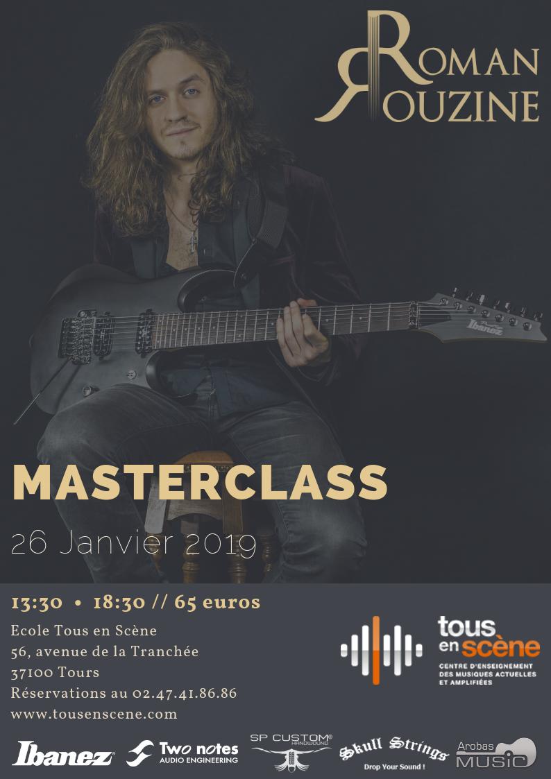 Roman Rouzine Masterclass