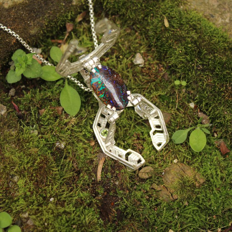 Spaced Craft Pendant