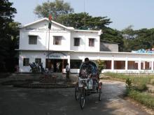 Hopsital entrance 2003