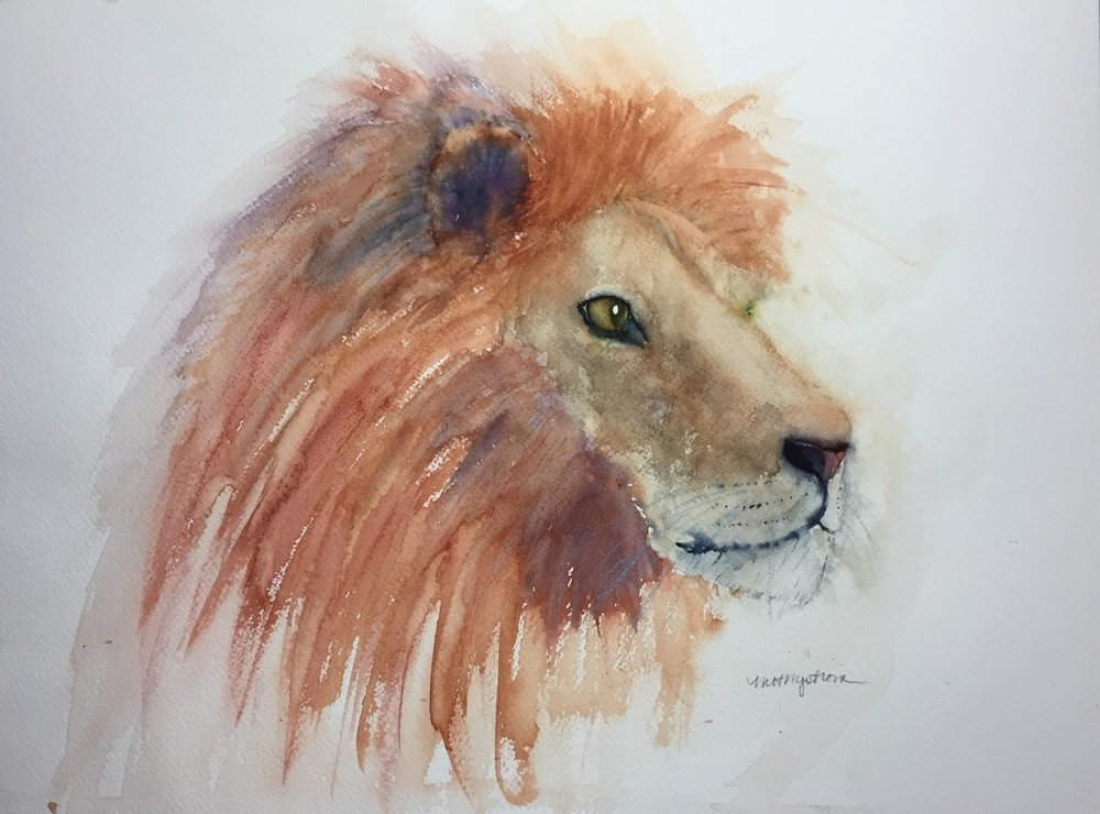 """""""Leo"""" by Marianne Nystrom"""