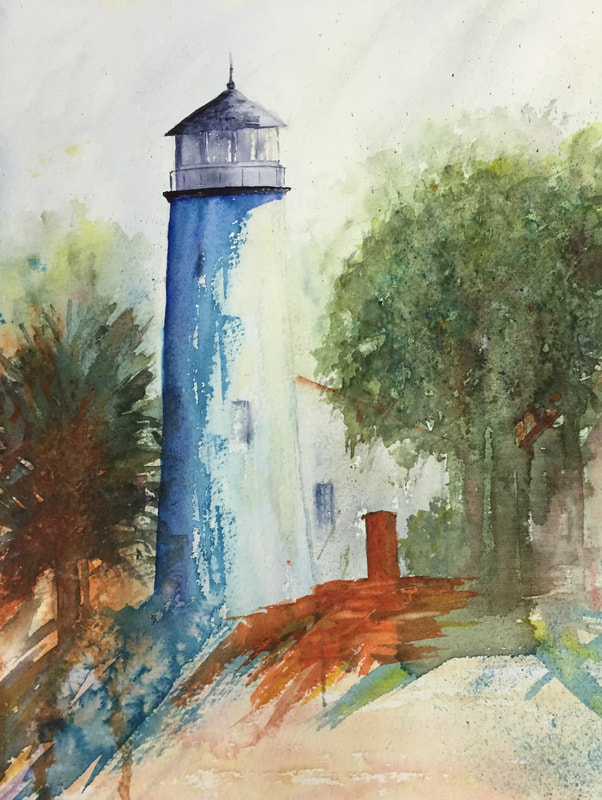 """""""Cape Cod Light"""" by Marianne Nystrom"""