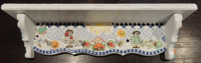 Mosaic Shelf by Valeria Birch
