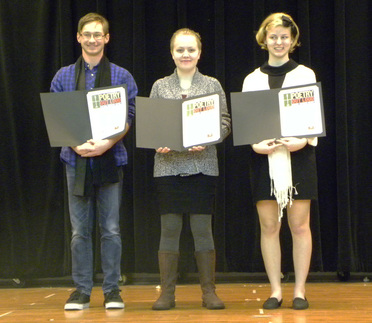Winners of the 2016 Poetry Out Loud Regional Competition