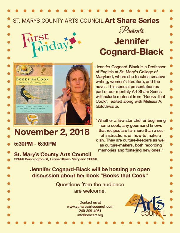 Art Share Series Jennifer Cognard-Black Flyer.jpg