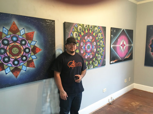 """""""Making art growing up was my way of making my mother smile."""" Flavio Bardales"""