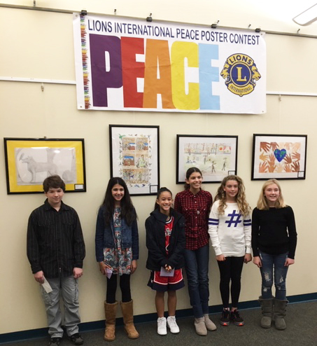 Copy of Lions Club Peace Poster Contest