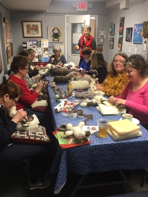 Christina Allen's Felted Rabbit Workshop