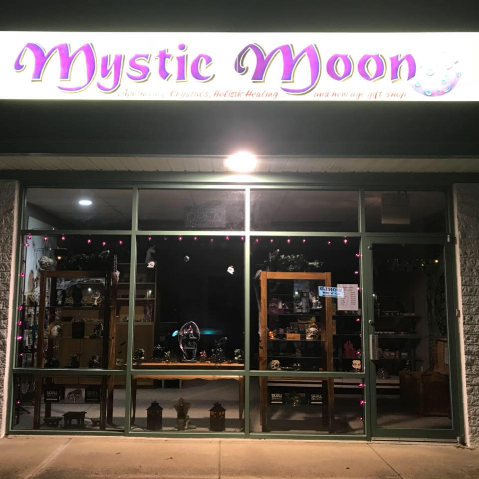 Mystic Moon - At Mystic Moon you can find hand made Steam Punk lamps. They also have a variety of holistic healing products, crystals, jewelry, books, candles, incense and more!