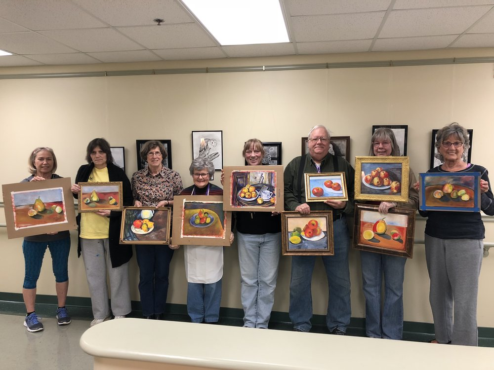 Loffler Senior Center Group Artists