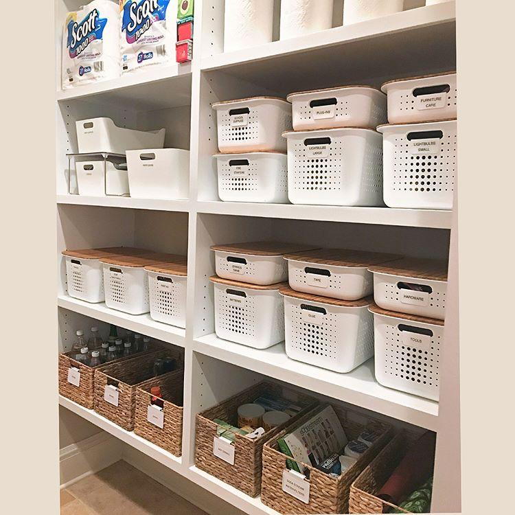 utility room organization