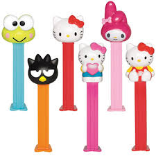 Sanrio Pez - Hello Kitty is the unoffical (official) queen of all the things kawaii, Pez is a candy institution. Together they make the perfect treat to drop into gift bags, hand out to co-workers or to keep in your purse anytime you just need some sugar and a smile.