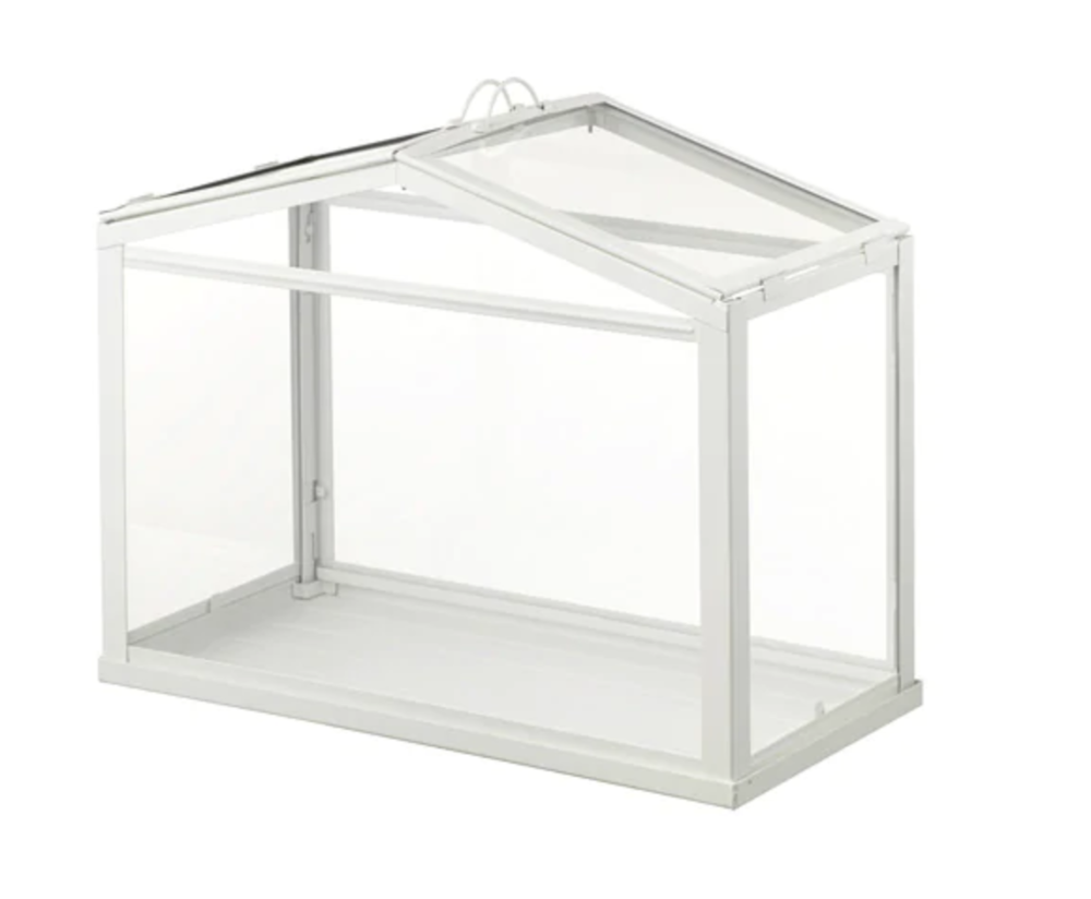Ikea Mini Greenhouse - Ok, so technically it's not a planter, it's a house for your planters. But, I would be remiss if I didn't include this swoon-worthy little greenhouse from the leaders in affordable, adorable design.