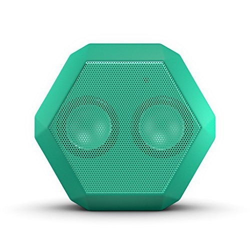 Boombotix Portable Boombox - This portable bluetooth speaker looks great in any corner of the room, and you can also clip it to yourself!