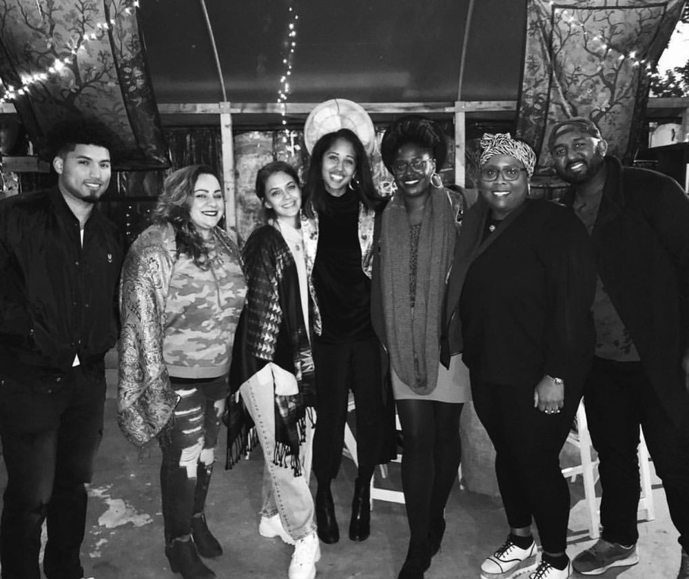 Some of the #teamqimo gang from January's group via IG:  @projectqimo