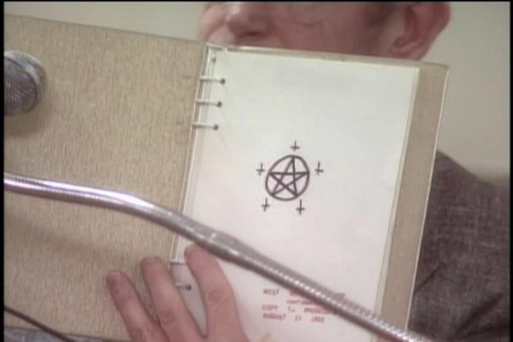 One of Damien's journals.