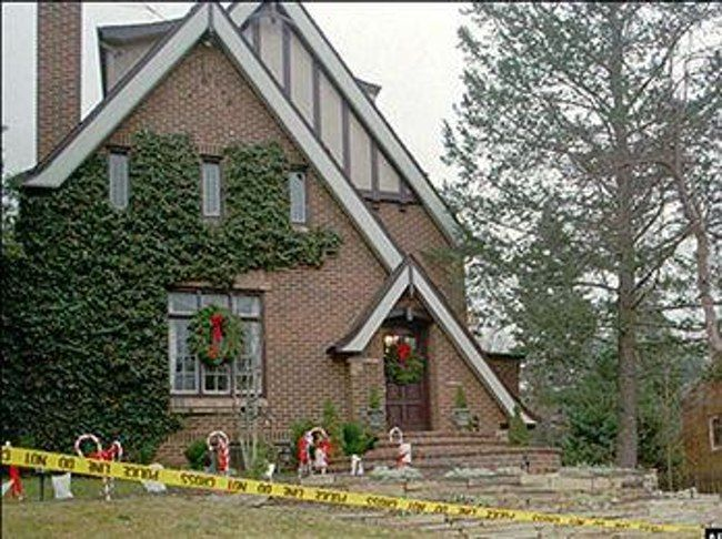 The Ramsey's home, the morning of the incident.