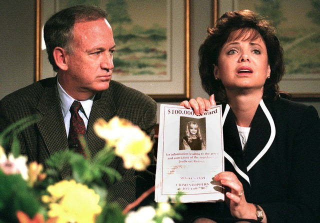 John and Patsy Ramsey during one of their appeals.